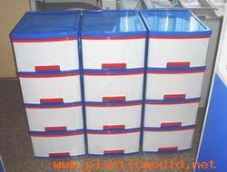 plastic drawer mould sample