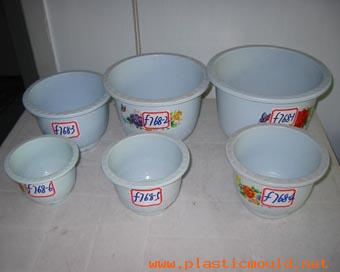Used mould for flower pot