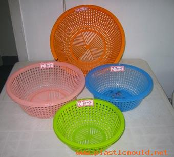 Used mould for round baskets