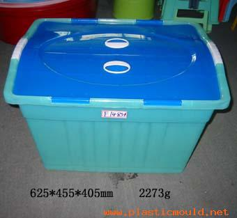 Used mould for container