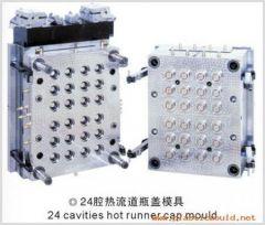 24 cavities hot runner cap mould