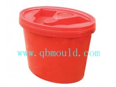 Plastic oval Pail Mould/pail mould/bucket mould(QB40022)