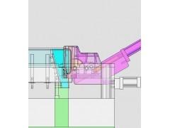 undercut injection mould tools--