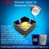 Silicone rubber for electronic potting compound