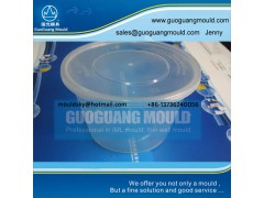 W023 plastic bowl mould, thin wall mould, disposable bowl mould