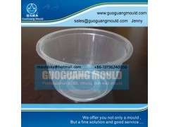 W030 plastic bowl mould, thin wall mould, disposable bowl mould