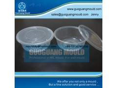 W034 plastic bowl mould, thin wall mould, disposable bowl mould