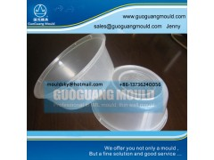 W042 plastic bowl mould, thin wall mould, disposable bowl mould