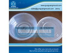 W045 plastic bowl mould, thin wall mould, disposable bowl mould