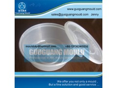 W055 plastic bowl mould, thin wall mould, disposable bowl mould