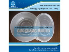 W056 plastic bowl mould, thin wall mould, disposable bowl mould