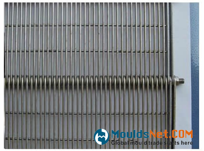 An eye flex co<em></em>nveyor belts EBUW with under welded wire spacing