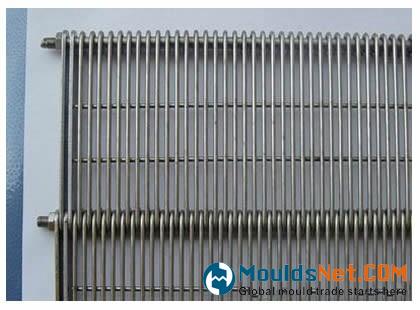 An eye flex co<em></em>nveyor belts with reinforcing plate edge