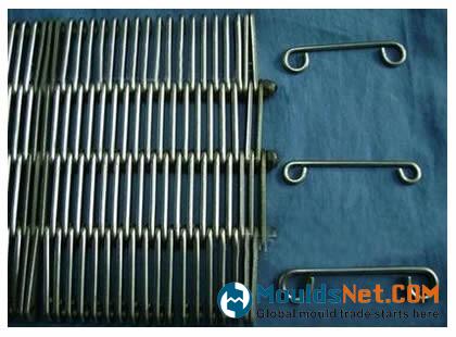 An eye flex co<em></em>nveyor belts with standard plate edge
