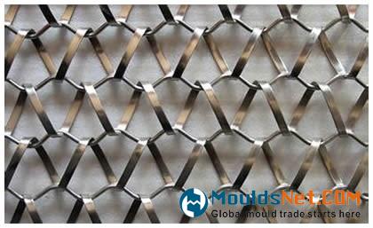 A flat wire type balanced weave co<em></em>nveyor belts