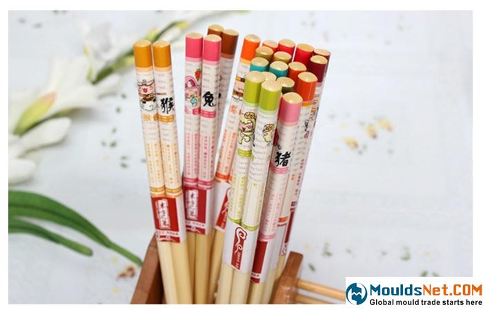 筷子 十二生肖竹筷 12星座筷子 健康天然筷子 创意筷子 无漆竹木-tmall.co1451m天猫
