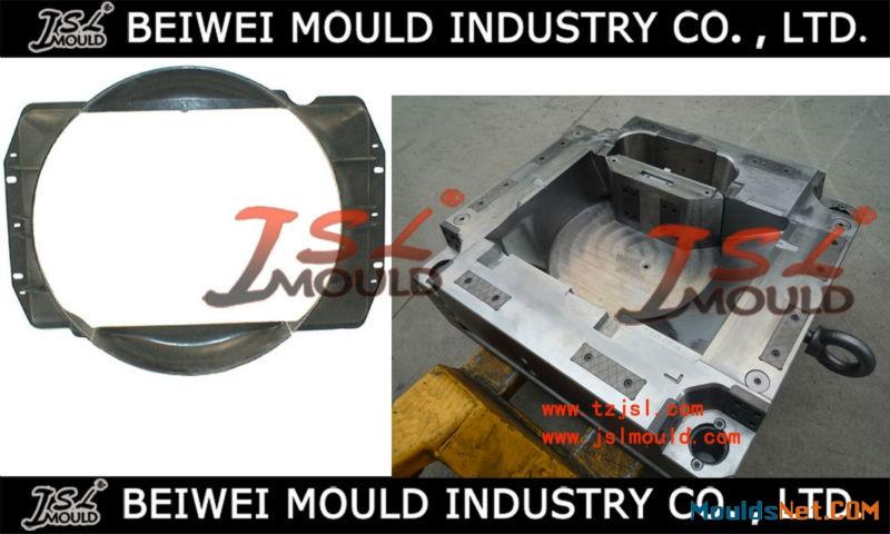 OEM Custom Injection plastic radiator shroud mould car cooling fan shroud mold