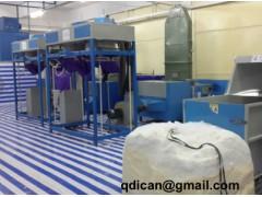 Ball fiber filling machine
