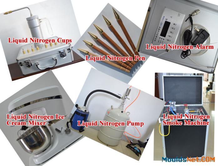 Portable cryogenic dewar tank 3L liquid nitrogen tank