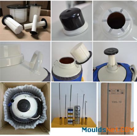 Dewar flask YDS-15L liquid nitrogen co<em></em>ntainers 15 L biological storage tank