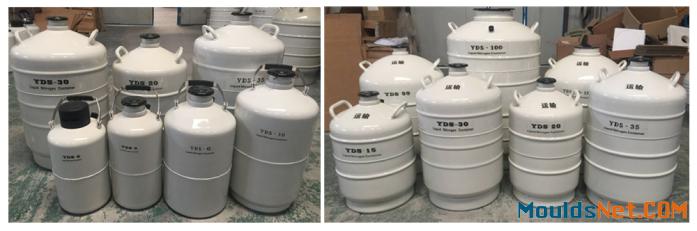 Liquid nitrogen dewar semen tank 35L cryogenic dewar cylinder container35 Liter